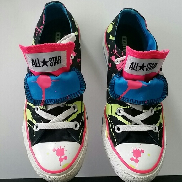 788ff3705670ab Converse Shoes - Converse unisex paint splatter sneakers